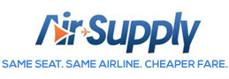 Corporate & Humanitarian Travel Management by Air-Supply , NYC Logo